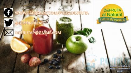 PULPAS DE FRUTA - 100% NATURAL