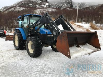 Vendo espléndido tractor New Holland TL100
